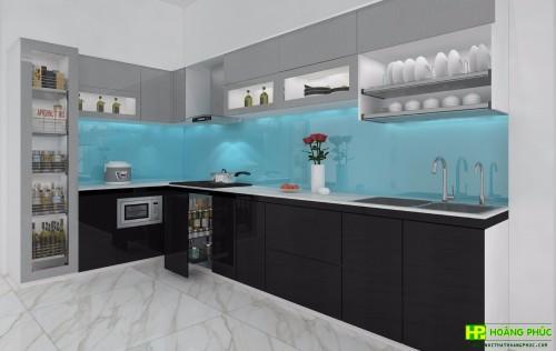 Tủ bếp Acrylic BAP25P26-02