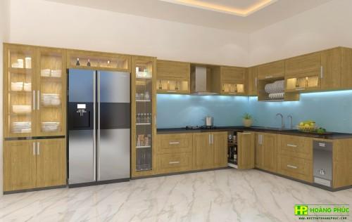 Tủ bếp pơ mu BGPM-03